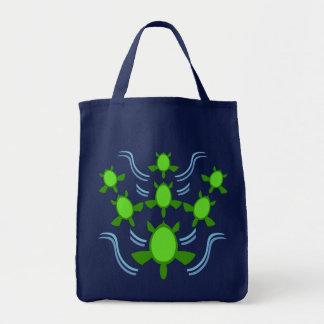 Follow the Turtles Dark Bags