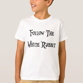 Follow the White Rabbit Alice T-Shirt