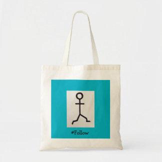 #Follow Tote Bag