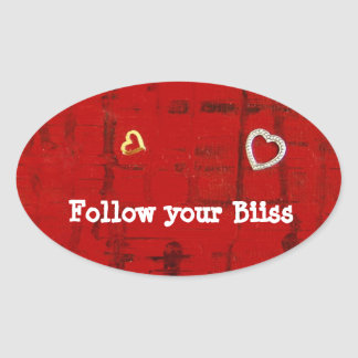 Follow you Bliss Stickers