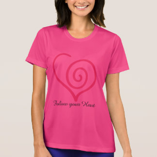 Follow you Heart Graphic T-shirt