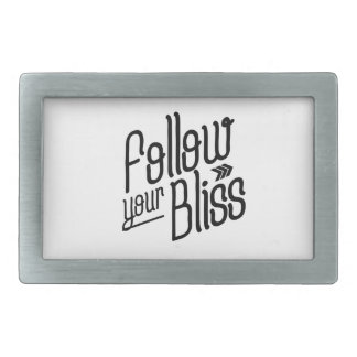 Follow Your Bliss Belt Buckle