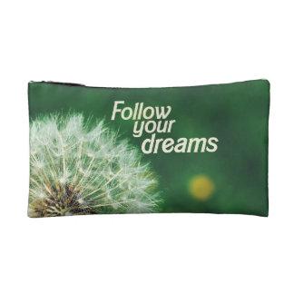 Follow Your Dreams Makeup Bag
