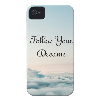 Follow Your Dreams Iphone 4 Case