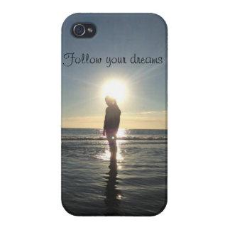 Follow Your Dreams Iphone 4 case