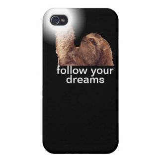 Follow your dreams - sloth iPhone 4/4S covers