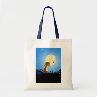 Follow your dreams budget tote bag