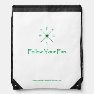 Follow Your Fun BACKPACK