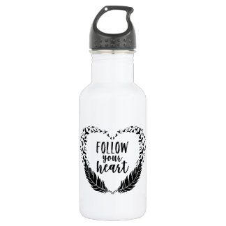 Follow your heart 532 ml water bottle