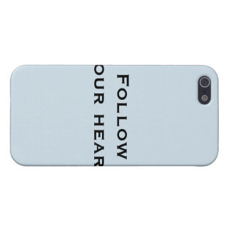 Follow your heart iPhone 5/5S case