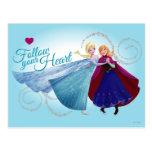 Follow Your Heart Post Card