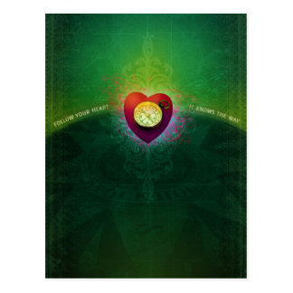 Follow Your Heart (Postcard) Postcard