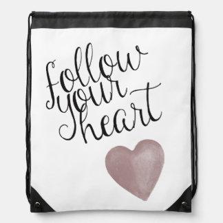 Follow Your Heart Rucksack