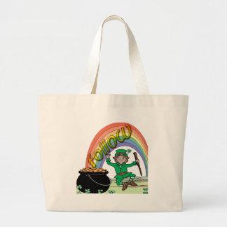 Follow your rainbow canvas bags