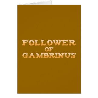 Follower OF Gambrinus Cards