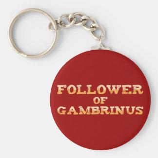 Follower OF Gambrinus Key Chain