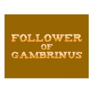 Follower OF Gambrinus Postcards
