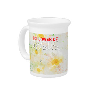 Follower Of JESUS Pitcher