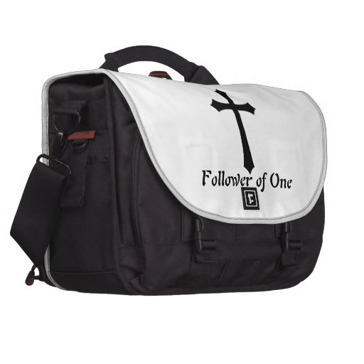 Follower of One Laptop Bag