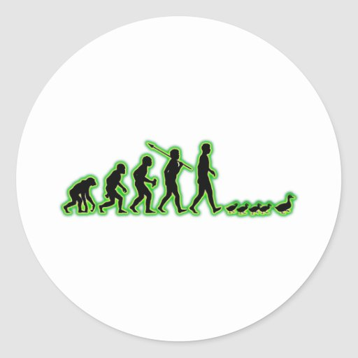 Follower Round Stickers