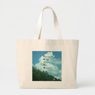 Following God... Canvas Bags