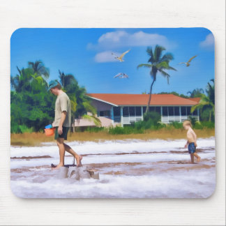 Following In His Father's Steps Mouse Pad