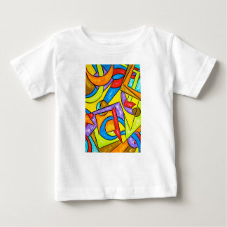 Following The Instructions-Abstract Art Geometric Baby T-Shirt
