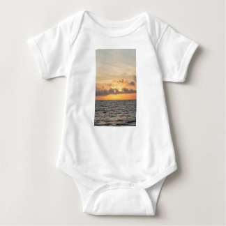 Folly Beach Morning Baby Bodysuit