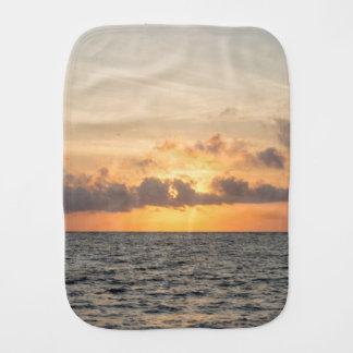 Folly Beach Morning Burp Cloth