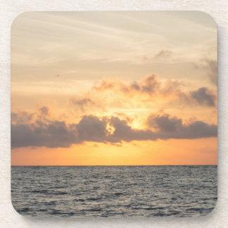 Folly Beach Morning Coaster