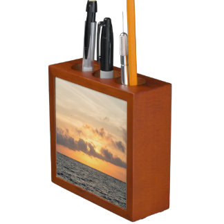 Folly Beach Morning Desk Organiser