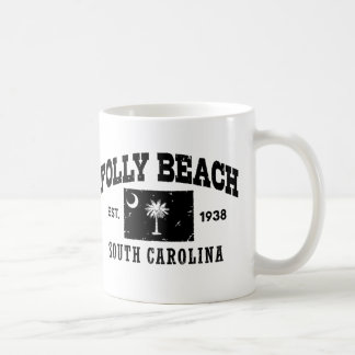 Folly Beach South Carolina Coffee Mug
