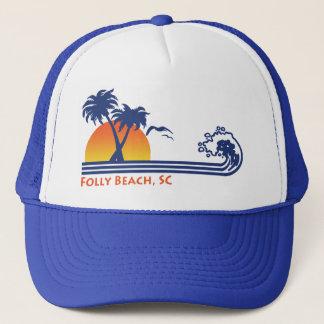 Folly Beach South Carolina Trucker Hat