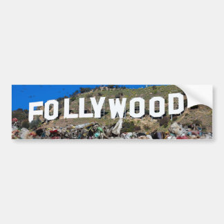 Follywood Bumper Sticker