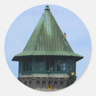 Folso Icons: Prison Guard Tower Classic Round Sticker