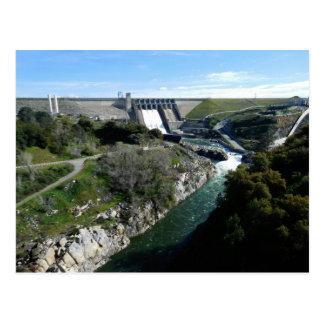 Folsom Icon: Folsom Dam and Gorge Postcard