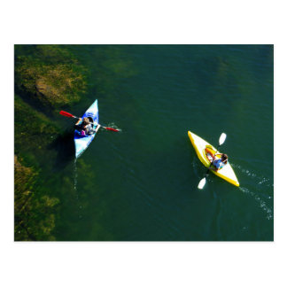 Folsom Icon: Kayakers on the American River Postcard