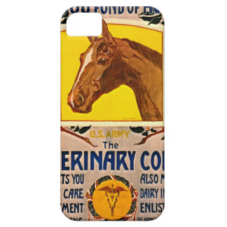 Fond of Horses 1919 iPhone 5 Cases