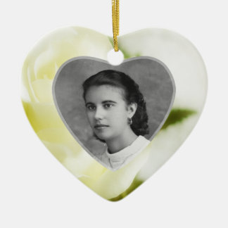 Fond Remembrance Ceramic Heart Decoration