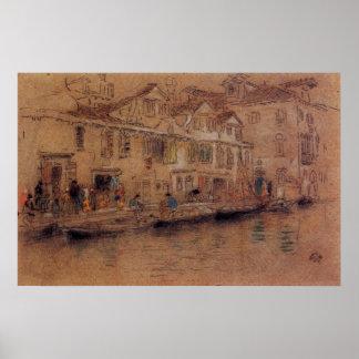 Fondamenta dei Mori by Whistler Posters
