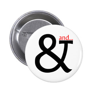 Font Cookery Pinback Buttons