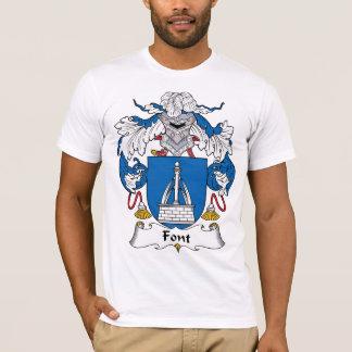 Font Family Crest T-Shirt