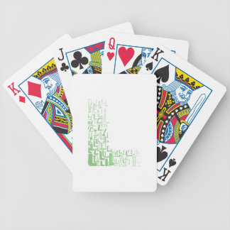 Font Fashion L Poker Deck