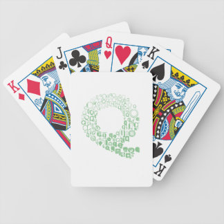 Font Fashion Q Bicycle Playing Cards