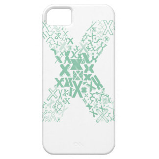 Font Fashion X Case For The iPhone 5