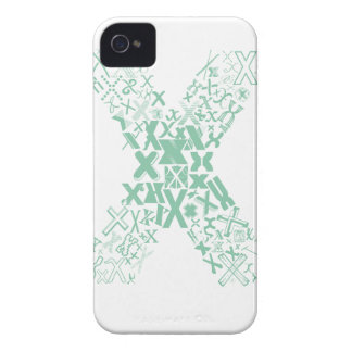 Font Fashion X iPhone 4 Case-Mate Cases