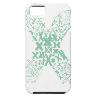 Font Fashion X iPhone 5 Cover