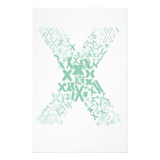 Font Fashion X Stationery