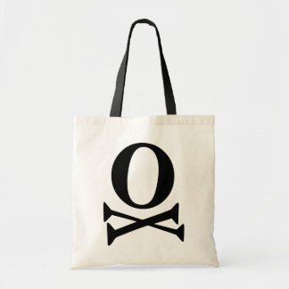 Font Pirate Canvas Bag