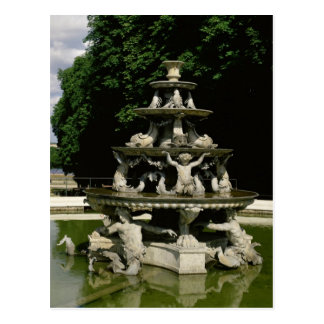 Fontaine de la Pyramide Postcard